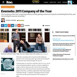 Say Hello to Your New Brain on Evernote, Company of the Year