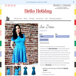 Hello Holiday · Isa Dress