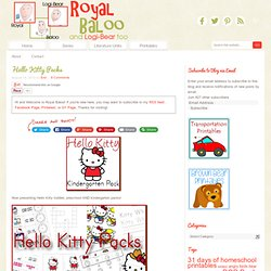 Hello Kitty Packs - Royal Baloo
