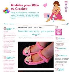Hello Kytti - Modèles pour Bébé au Crochet