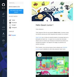Hello Qwant Junior !
