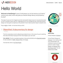Hello World - Hack Design