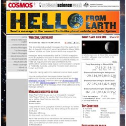 HelloFromEarth.net | Gliese 581d