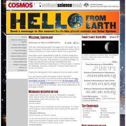 HelloFromEarth.net | Gliese 581d
