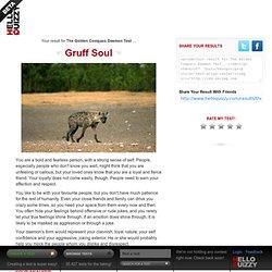 Gruff Soul