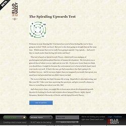 HelloQuizzy.com: The Spiraling Upwards Test