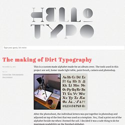 Trondheim Type Club says HelloTypo™ – Typography news, ideas and inspiration