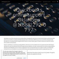 Helloxperts.com - Quickbooks online support Oklahoma