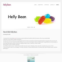 Helly Bean