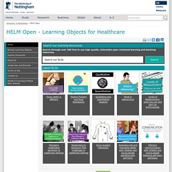 HELM Open - The University of Nottingham