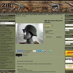 M40 steel helmet, Wehrmacht, field grey - zib-militaria.de