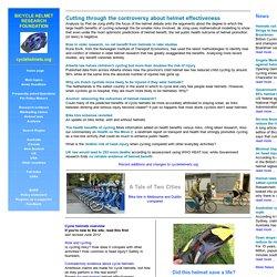 Cycle helmets: an international resource