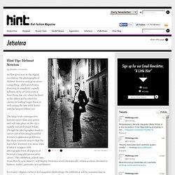 Hint Tip: Helmut Newton