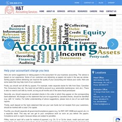 Bookkeeping Services for Small Business in Mississauga