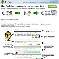 How I can help you complete your tax return