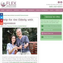 Help for the Elderly with Depression