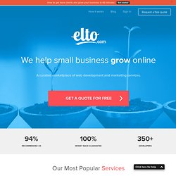 We Help Small Business Grow Online | Elto