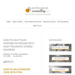 How to help your spouse or partner with PTSD