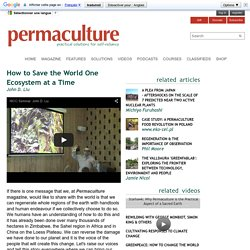 Help spread the permaculture word...