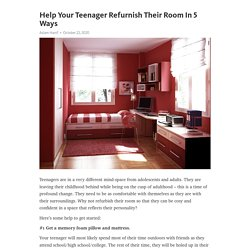 Help Your Teenager Refurnish Their Room In 5 Ways