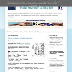 Help Yourself to English: December 2010