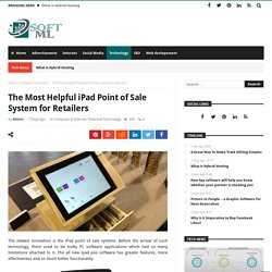 The Most Helpful iPad Point of Sale System for Retailers – Soft ML