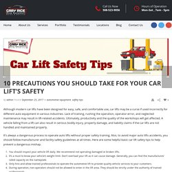 Some Helpful Car Safety Tips to Prevent Dangerous Mishap