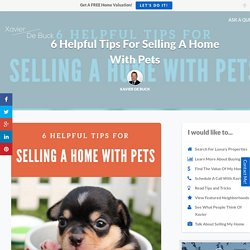6 Helpful Tips For Selling A Home With Pets