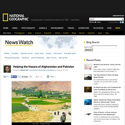 Helping the Hazara of Afghanistan and Pakistan