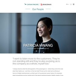 Helping Customers Have a 'Life Well Travelled' - Staff Stories - Cathay Pacific