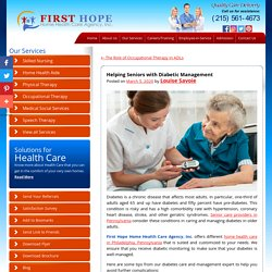 Helping Seniors with Diabetic Management