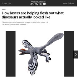 How lasers are helping flesh out what dinosaurs actually looked like