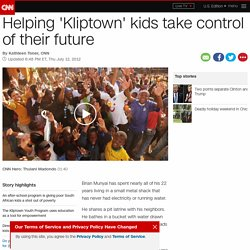 Helping 'Kliptown' kids take control of their future