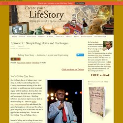 — Create Your Life Story : Helping You Record a Lifetime of Stories