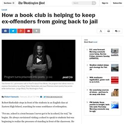 How a book club is helping to keep ex-offenders from going back to jail