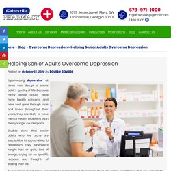 Helping Senior Adults Overcome Depression