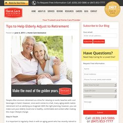 Helping Senior Loved Ones Adjust to Retirement