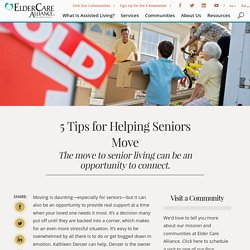 Helping Seniors Move: 5 Tips