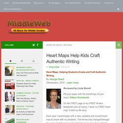 Heart Maps: Helping Students Create Craft Authentic Writing