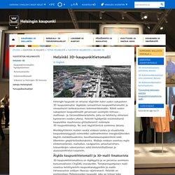 Helsinki 3D-kaupunkitietomalli