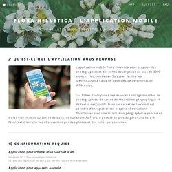 Flora Helvetica - L'application mobile