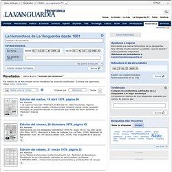 """""""noticiari de barcelona"""" (1-6 de 6) Buscador Hemeroteca - Lavanguardia.es"""