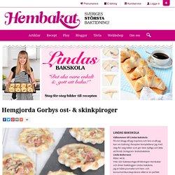 Hemgjorda Gorbys ost- & skinkpiroger