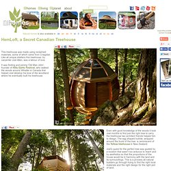 HemLoft, a Canadian Treehouse