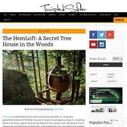 The HemLoft: A Secret Tree House Hiding in the Woods
