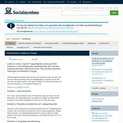 Hemlöshetens omfattning i Sverige