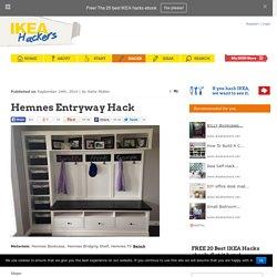 Hemnes Entryway Hack