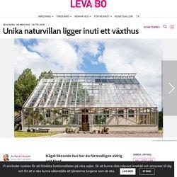Hemnet visar upp unik villa i Kungsbacka – bo i ett växthus
