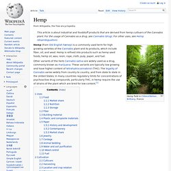 Hemp - Wikipedia, the free encyclopedia - (Build 20100401064631)