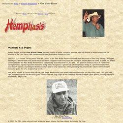 Hemphasis.net ~ Alex White Plume